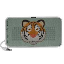 Paper Bengal Tiger Doodle Speaker