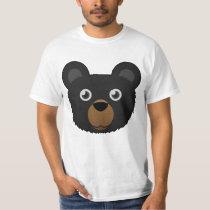 Paper Black Bear T-Shirt