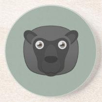 Paper Black Sheep Sandstone Coaster
