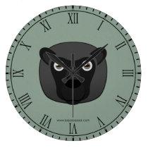 Paper Black Sheep Wallclock