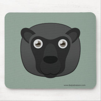 Paper Black Sheep Mouse Pad