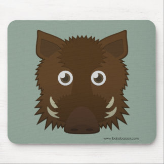 Paper Boar Mouse Pad