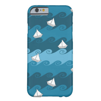 Paper Boats Pattern Barely There iPhone 6 Case