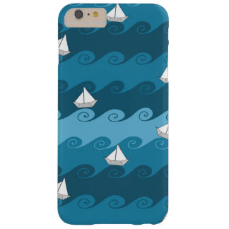 Paper Boats Pattern Barely There iPhone 6 Plus Case