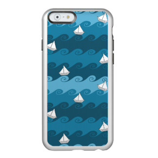 Paper Boats Pattern Incipio Feather Shine iPhone 6 Case