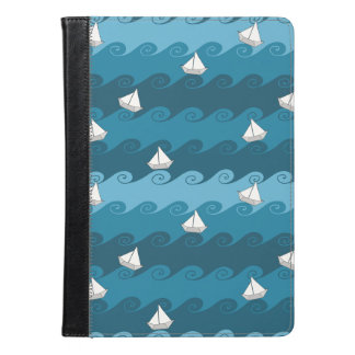 Paper Boats Pattern iPad Air Case