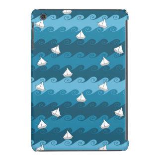 Paper Boats Pattern iPad Mini Cases