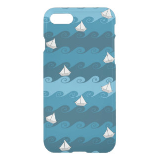 Paper Boats Pattern iPhone 8/7 Case