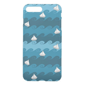Paper Boats Pattern iPhone 8 Plus/7 Plus Case