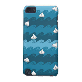 Paper Boats Pattern iPod Touch (5th Generation) Case