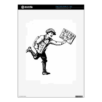 Paper Boy Skins For The iPad 2