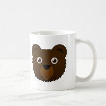 Paper Brown Bear Mug