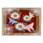Paper Butterflies Greeting Cards
