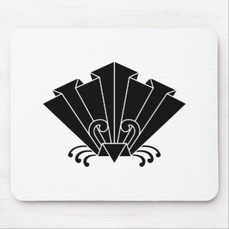 Paper butterfly mouse pad