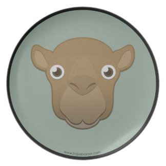 Paper Camel Plate