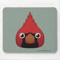 Paper Cardinal Basic Mousepad