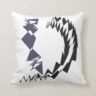Paper Chain Abstract Throw Pillow