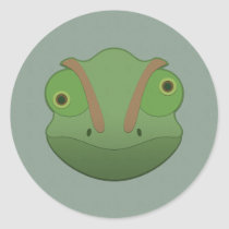 Paper Chameleon Sticker Sheet