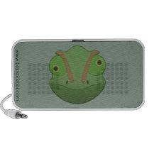 Paper Chameleon Doodle Speaker