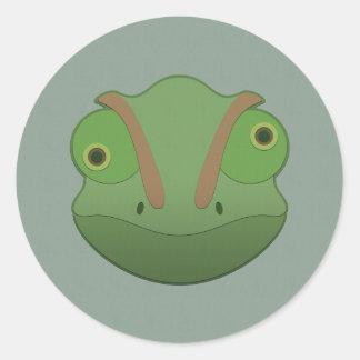 Paper Chameleon Sticker