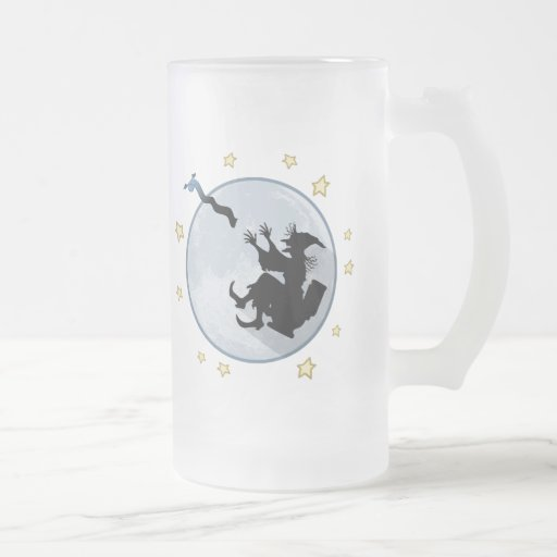 Paper Chase 16 Oz Frosted Glass Beer Mug