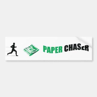 Paper Chaser BUMPER STICKER 2