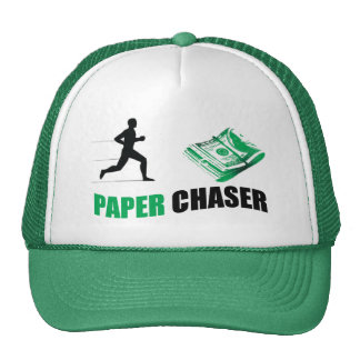 Paper Chaser cap Trucker Hat