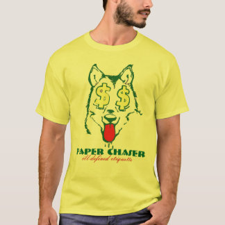 Paper Chasing Wolf T-Shirt
