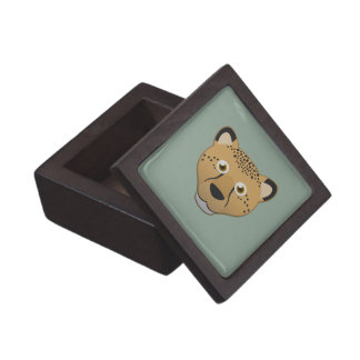 Paper Cheetah Keepsake Box