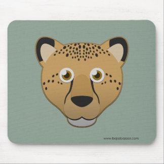Paper Cheetah Mouse Pad