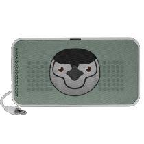 Paper Chinstrap Penguin Doodle Speaker