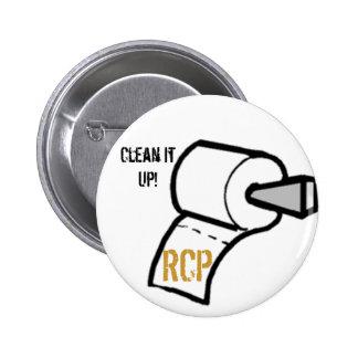 paper, Clean It Up!, Button