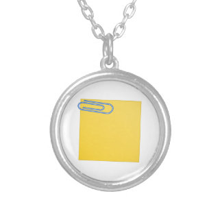 Paper Clip and Note Pendants