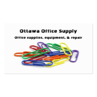 Paper Clip Business Cards