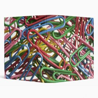 Paper clip design ring binder