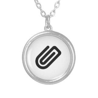 Paper Clip Custom Necklace