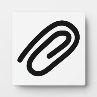 Paper Clip Plaque
