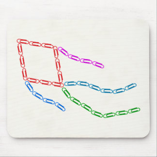 Paper Clips Kite Mousepad