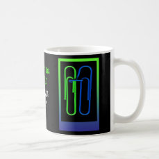 """Paper Clips Save the Date """"Hitched"""" mug"""