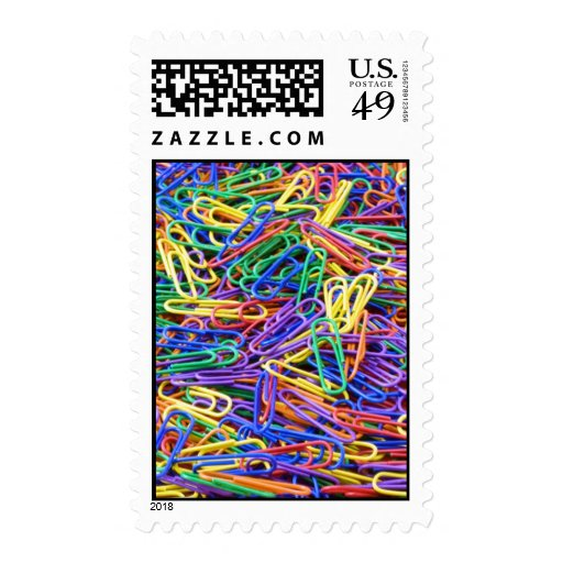Paper clips stamp