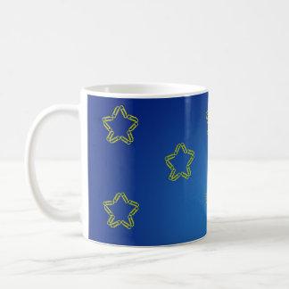 Paper Clips Stars Mug