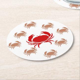 Paper Coaster - Crustaceans Round Paper Coaster