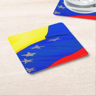 Paper Coasters - #Venezuela - Flag - amramirezy