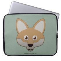 Paper Coyote Laptop Sleeve