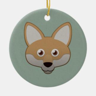 Paper Coyote Ornaments