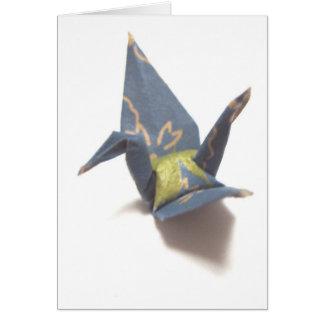Paper Crane Card