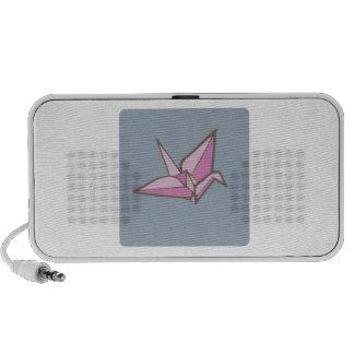 Paper Crane Mp3 Speaker