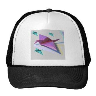 Paper Crane Trucker Hat