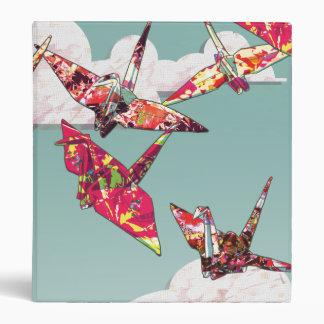 """Paper Cranes 1"""" Binder"""