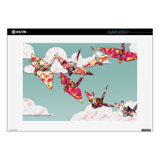 Paper Cranes Laptop Skin